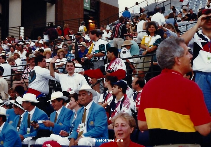 Atlanta, Olympics, 1996 Games, volunteer, Closing Ceremonies, Gloria Estefan
