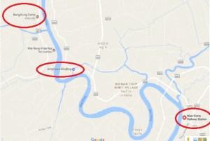 Bangkok, Mae Klong, railroad market, Bang Kung, Amphawa, bike tour, thailand, travel, adventure