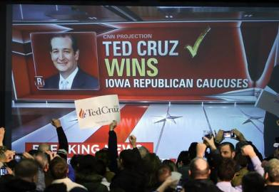 ted cruz wins iowa