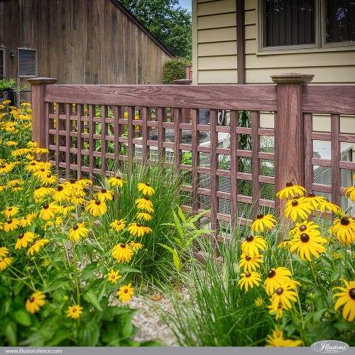 Medium Crop Of Lattice Fence Panels