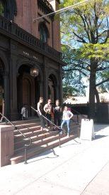 L'équipe de Ondin, au Flushing Town Hall du Queens