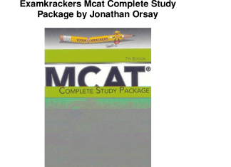 Most Recommended Books for Preparation of MCAT Test 2015