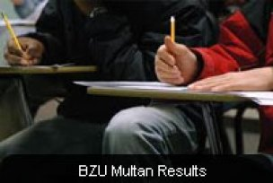 Bahauddin Zakariya University BZU BA/BSc Part I & II Result 2015