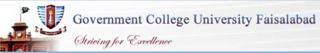 GCU Faisalabad Undergraduate Merit Lists 2015