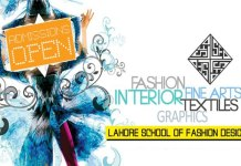 Lahore School of Fashion Designing Admission 2015
