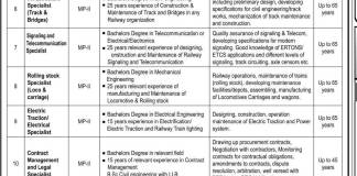 Pakistan Railways Jobs 2015 Application Form