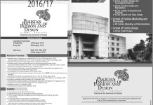 Pakistan Institute of Fashion and Design PIFD Lahore Admissions 2016