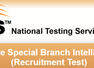 Punjab Police Special Branch NTS Test Syllabus For Intelligence Operator