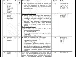 WAPDA Assistant Director Jobs 2016 NTS Application Form Last Date