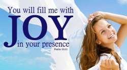 Small Of Bible Verses On Joy
