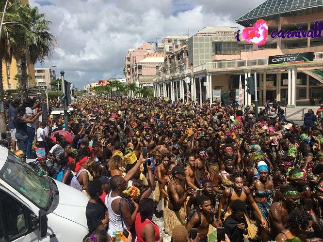Guadeloupe Carnival: Mas Maten