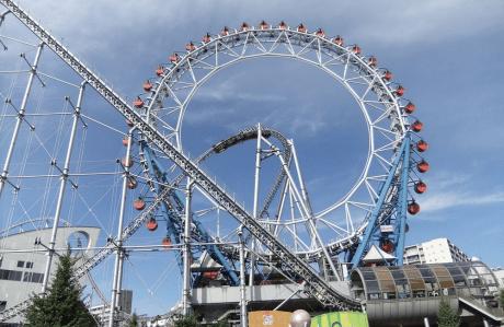 東京ドームシティ アトラクションズ(旧後楽園遊園地)の画像