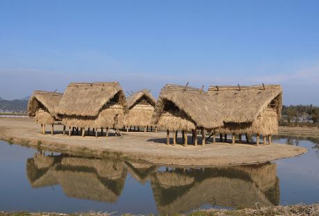 安国寺集落遺跡公園『弥生のムラ』の画像
