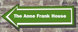 Anne Frank sign