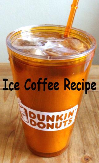 donkin donuts iced coffee recipe1