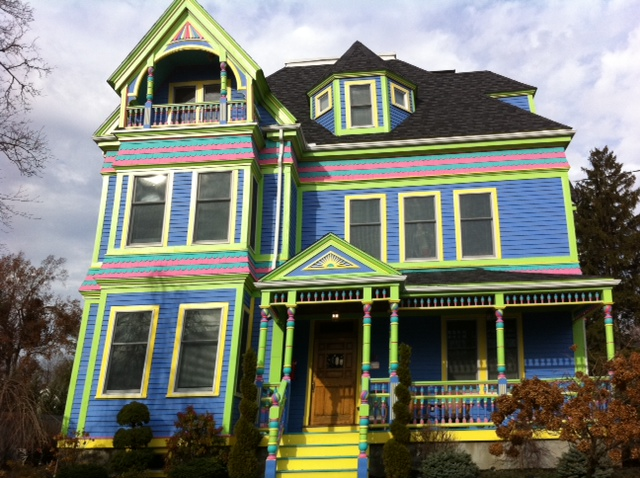 What Does This House Say to You? Not Your Grandparents' Victorian House!