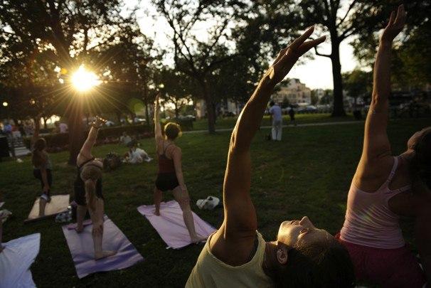 free yoga Newton MA