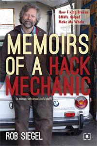 Newton author, Memoirs of a hack mechanic, Rob Siegel