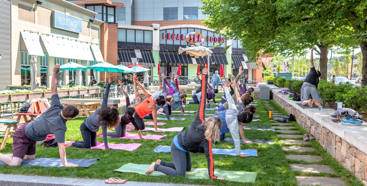 Street Sweat: FREE Fitness Classes at The Street