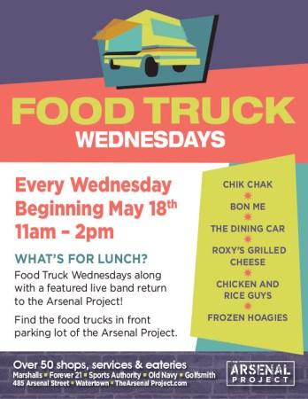 Arsenal Food Truck Wednesdays
