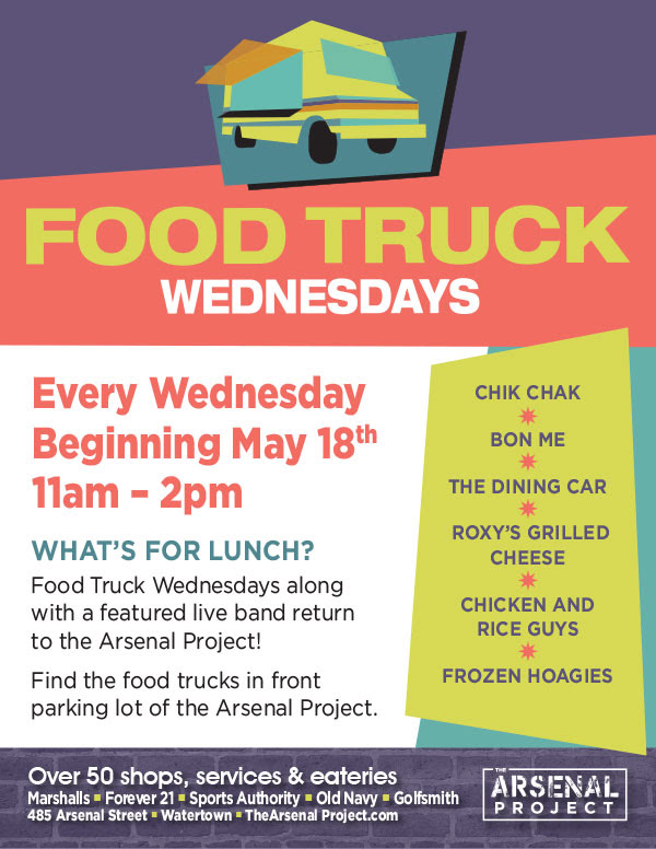 Arsenal Food Truck Wednesdays