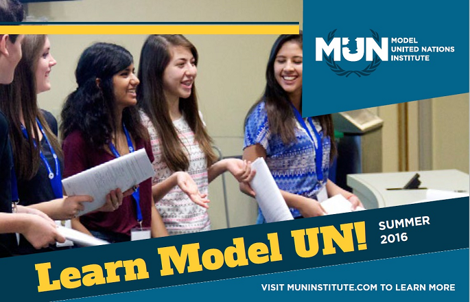 Room for More Students at Regional Model UN Weekend