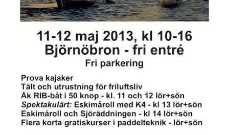 Frilufts- och kajakmässa i Västerås