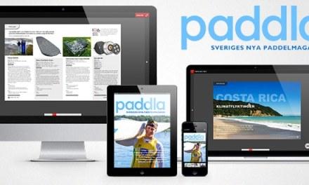 Nytt samarbete med tidningen Paddla