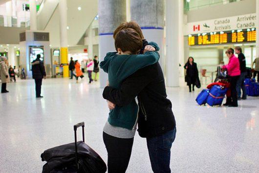 girlfriend goes abroad