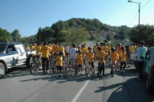 biciclando San Mango 2014