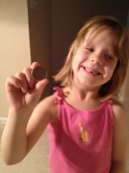 The tooth fairy came!
