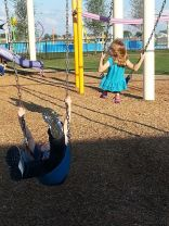 Most accurate photo of swinging