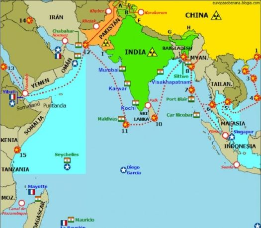 Here Is All You Should Know About 'String Of Pearls', China's Policy To  Encircle India