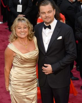 Leonardo DiCaprio and his mum Irmelin Indenbirken