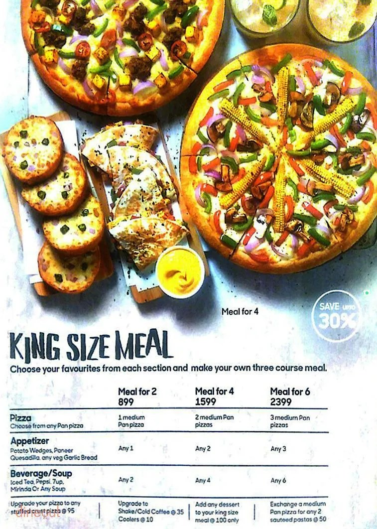 Large Of Pizza Hut Sizes