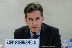 UN Special Rapporteur on the right to freedom of opinion and expression - David Kaye