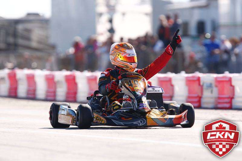 Team Goodwood Kartways Imaf seat gokart 3