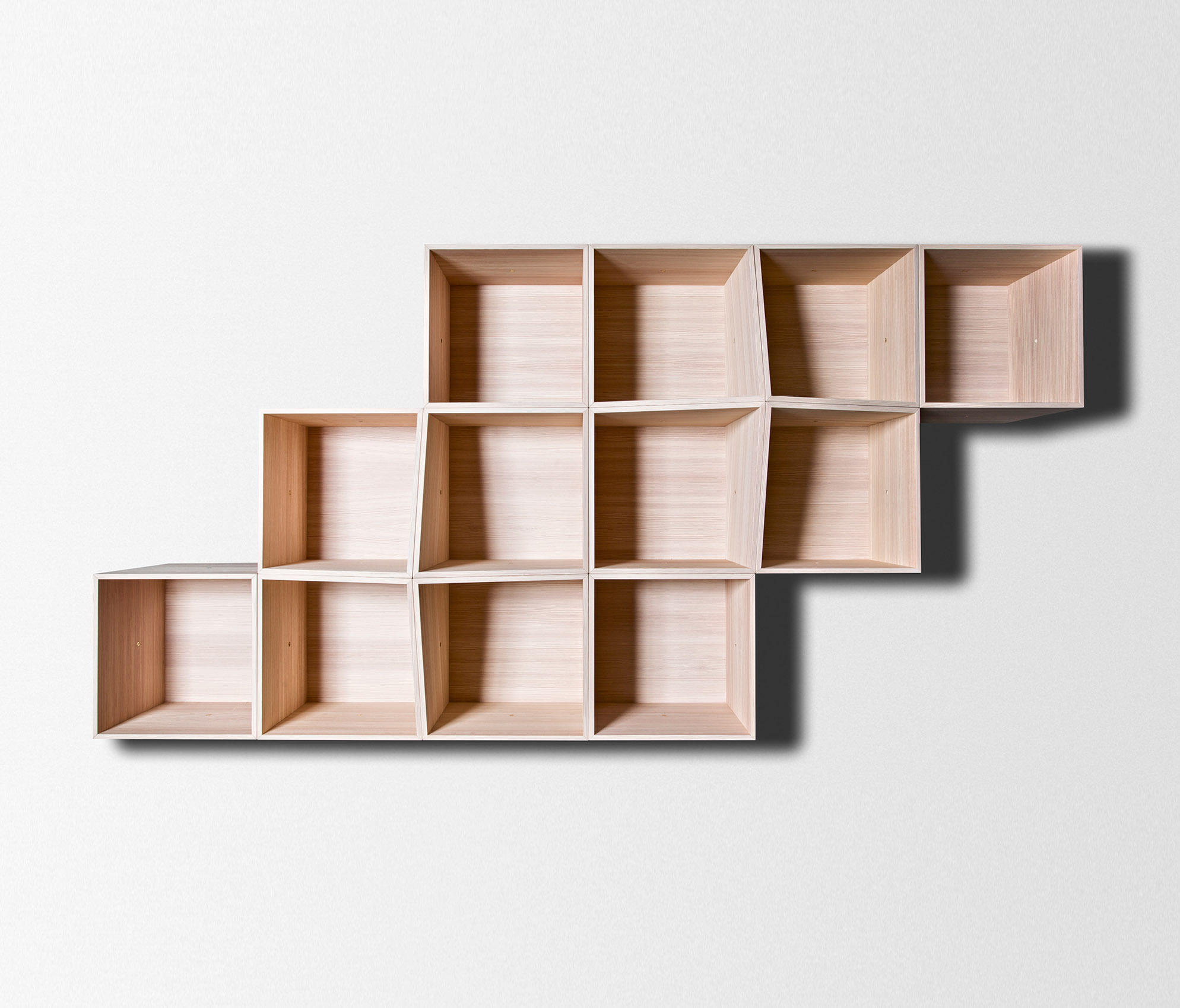 Fetching Edge Wall Shelving Modular System By Trentino Wood Design Wall Edge Wall Shelving Modular System Wall Shelves From Trentino Wood Wooden Shelves To Hang On Wall Wood Shelves On Brick Wall interior Wooden Shelves On Wall
