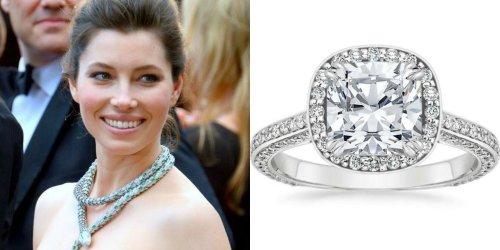 Medium Of Celebrity Engagement Rings