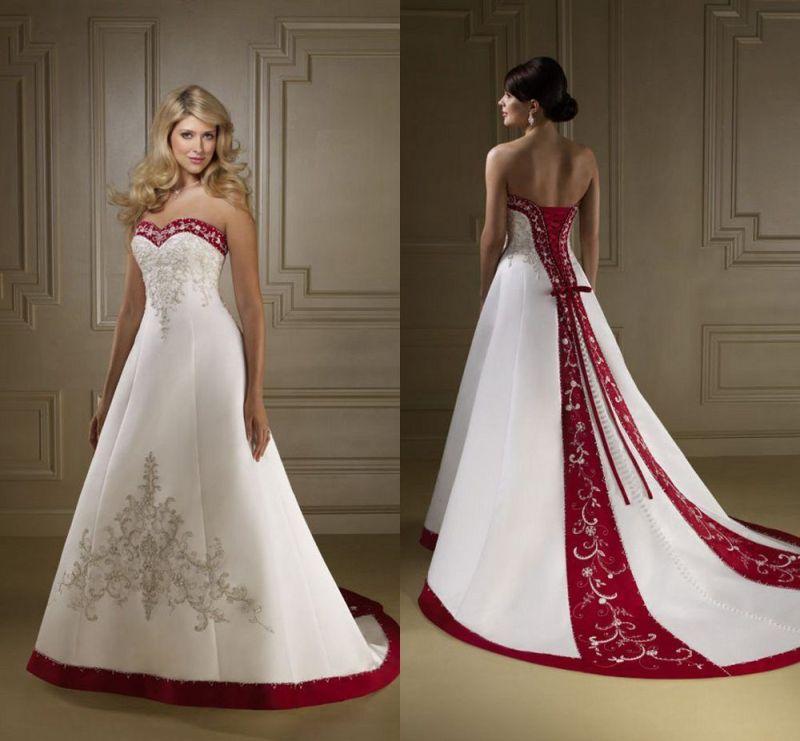 Large Of Blue And White Wedding Dress