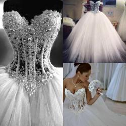 Simple Real 2016 Ball Gown Wedding Dresses Heart See Through Tulle Corset Pearls Princess Bridal Gowns Vestido De Noiva 2015 Bridalgowns Real 2016 Ball Gown Wedding Dresses Heart See wedding dress White Wedding Dress