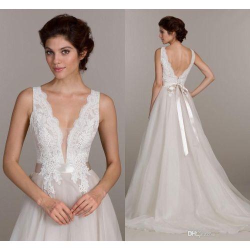 Medium Crop Of Plunging Neckline Dress