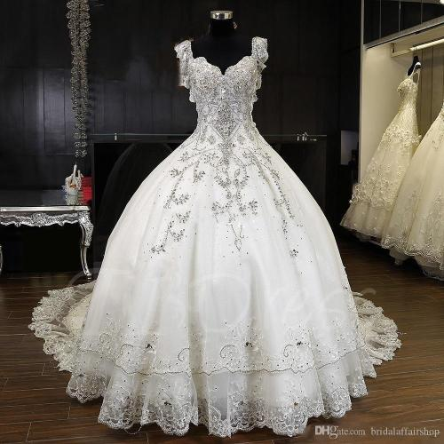 Medium Crop Of White Wedding Dresses