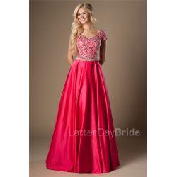 Small Crop Of Floor Length Dress