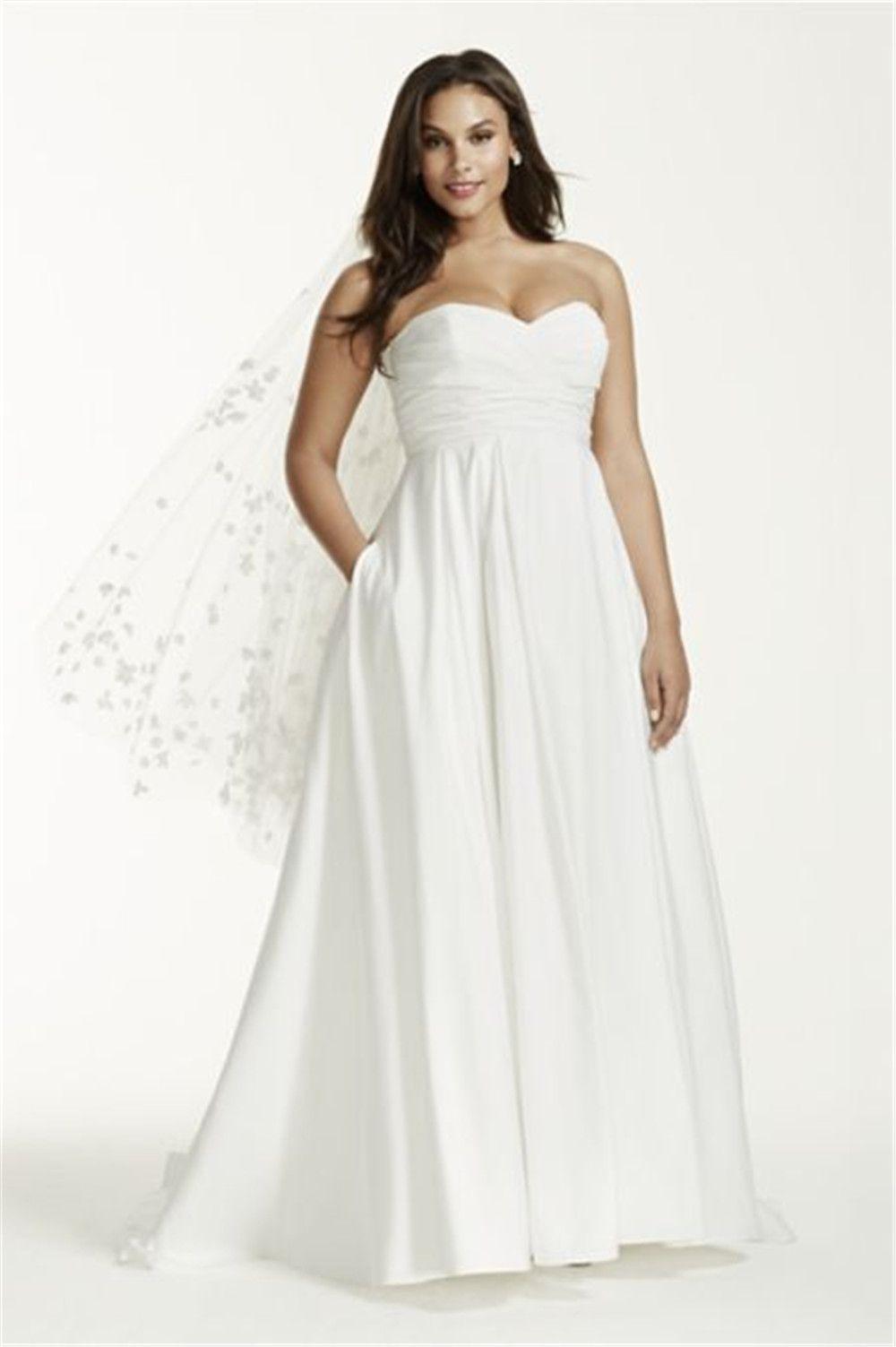Fullsize Of Empire Waist Lace Wedding Dress
