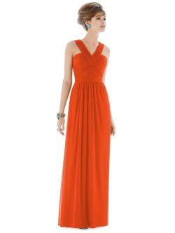 Small Of Orange Bridesmaid Dresses
