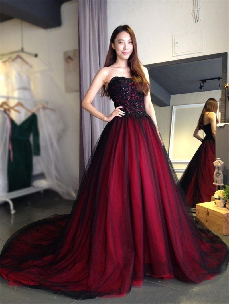 Large Of Gothic Wedding Dress