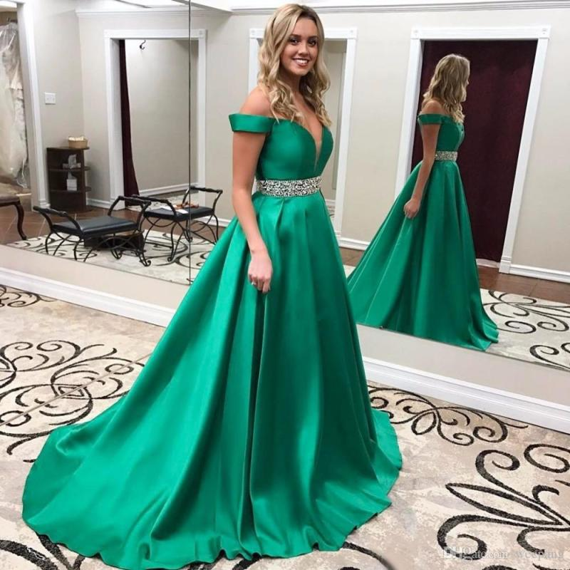 Large Of Green Prom Dress