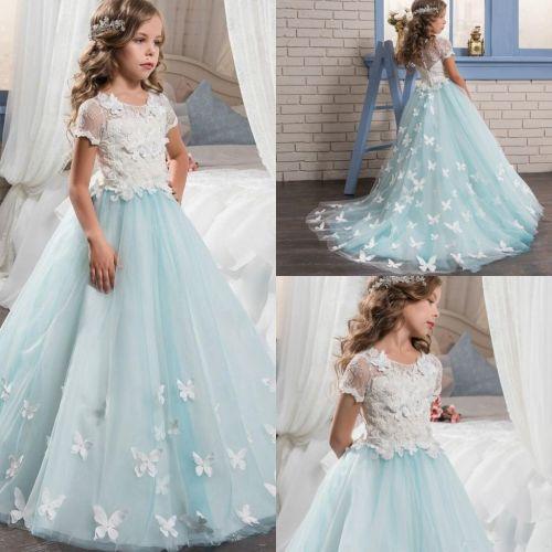 Medium Of White Flower Girl Dresses