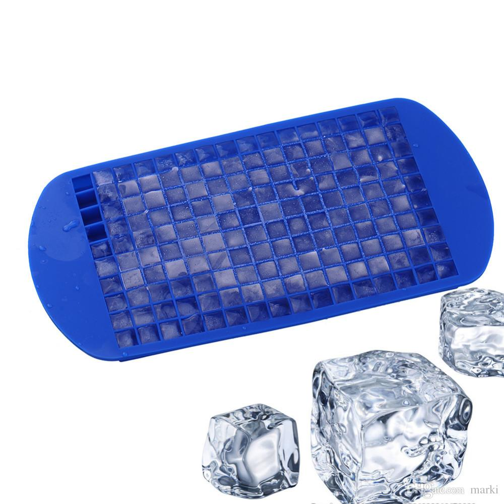 Gracious Shop Ice Cream Tools Mini Ice Cube Tray Frozen Silicone Icem Kitchen Tool Silicone Cube Tray Square M Ice Maker Chocolate Shop Ice Cream Tools Mini Ice Cube Tray Frozen Silicone nice food Mini Ice Cube Trays